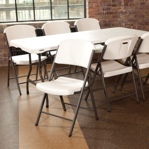 features of lifetime folding chair