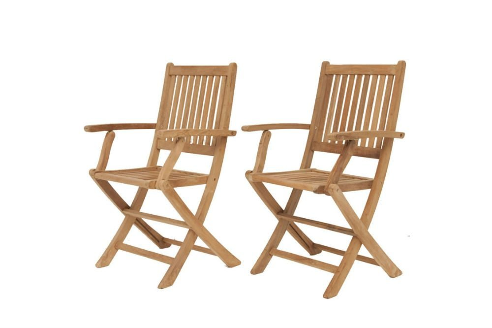 Amazonia Teak London 2-Piece Teak Folding Chair Review