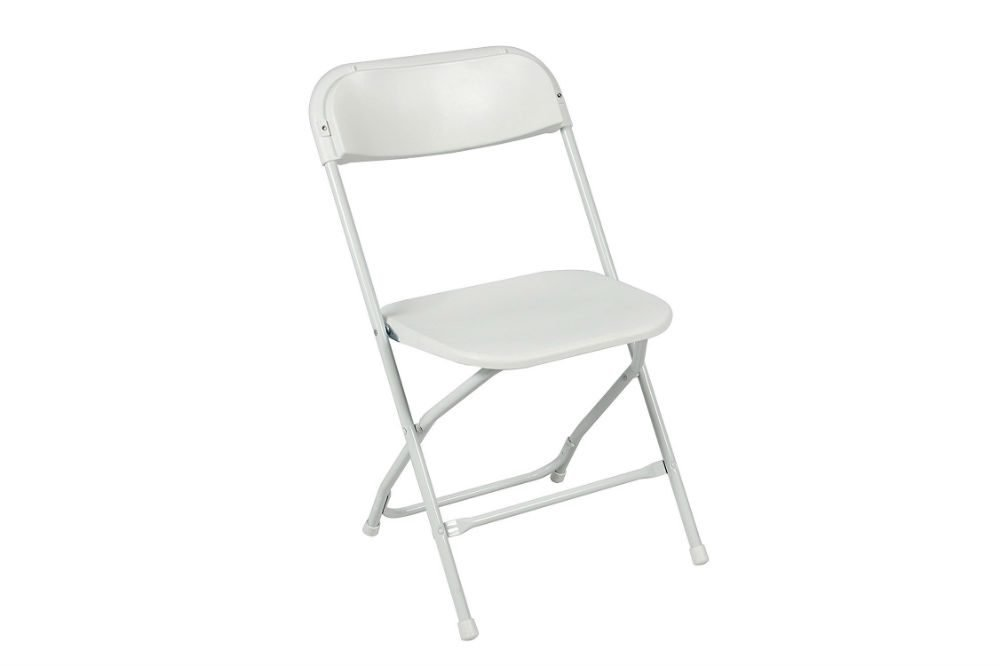 Best Choice Products Commercial White Plastic Folding Chairs Review