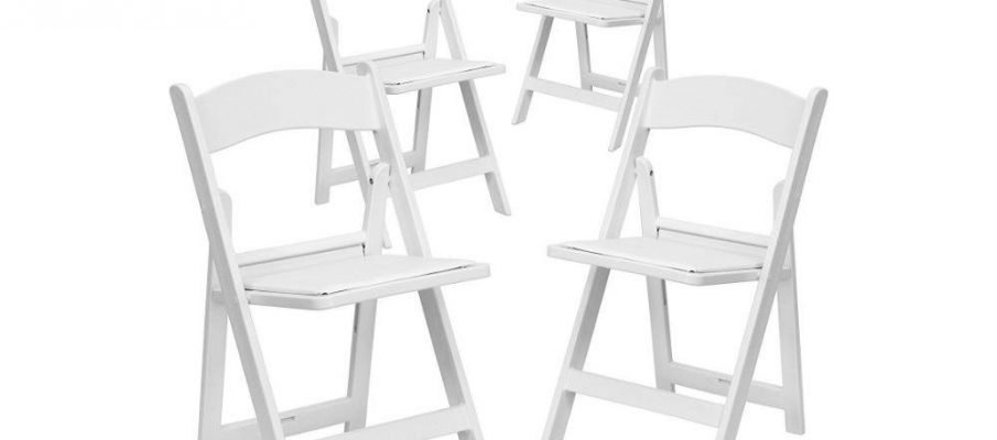 HERCULES Series 1000 lb. Capacity White Resin Folding Chair Review
