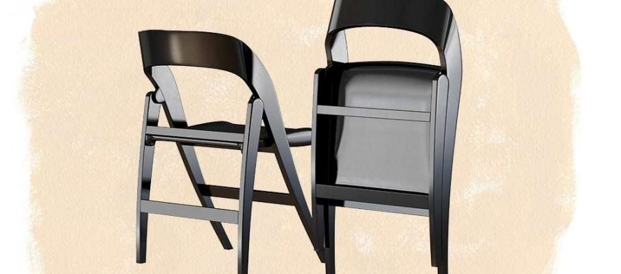 How tall is a folding chair2