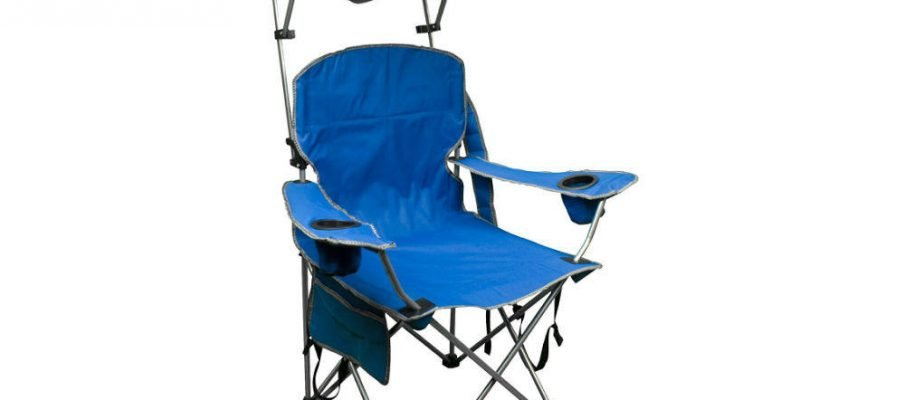 Quik Shade Adjustable Canopy Folding Camp Chair Review: A Closer Look
