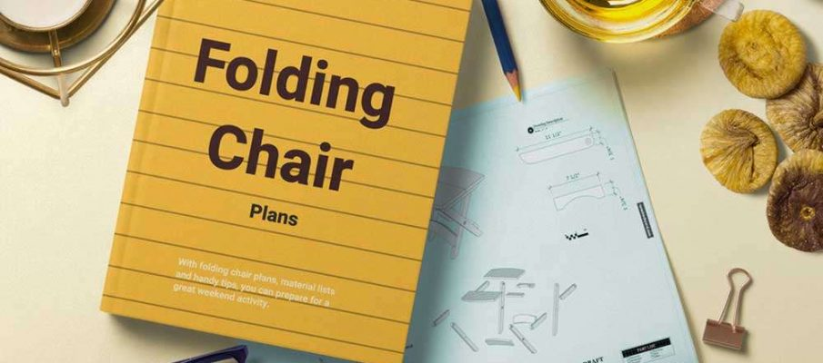 Folding Chair Plans with book