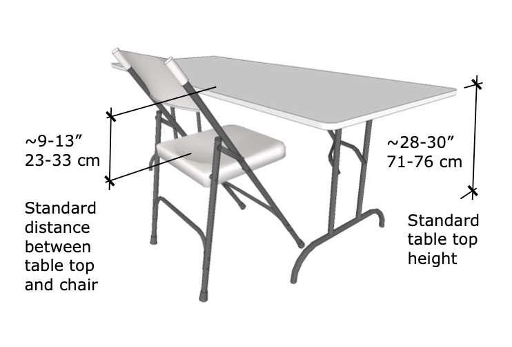 How Tall Is A Folding Chair Open Backyard